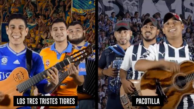 Tres Tristes Tigres, compone canción, final regia, Pacotilla, Monterrey, Tigres, Afición, seguidores, estadio BBVA, Liga MX, Clásico, Pacotilla
