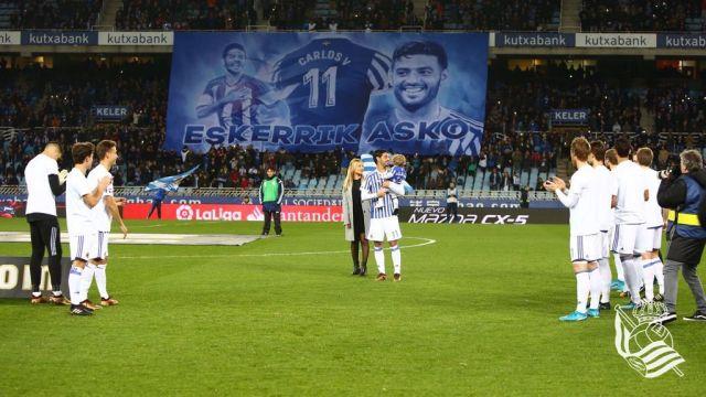 Carlos Vela, Real Sociedad, Gol, Ultimo Gol de Carlos Vela