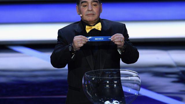 México Grupo F Selección Mexicana Sorteo del Mundial, Rusia