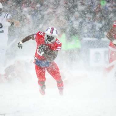 Tormenta de nieve NFL Buffalo Bills Indianapolis Colts