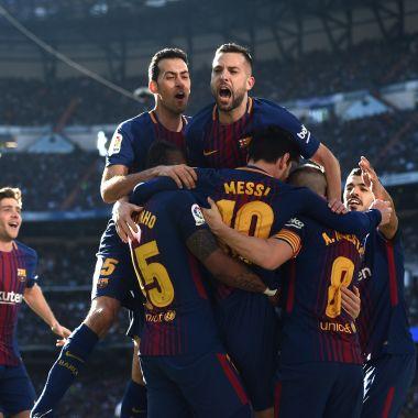 Clásico de España Real Madrid Barcelona goles Cristiano Messi