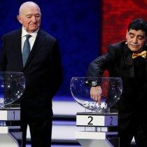 Maradona Maradona Sorteo Mundialista Maradona enojado por sorteo del mundial Maradona enojado Maradona se molesta por sorteo del mundial reacciones del sorteo del mundial