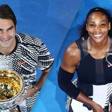 Roger Federer Serena Williams Mejores deportistas