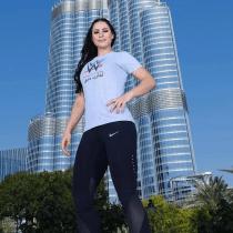 Shadia Bseiso luchadora árabe WWE NXT Performance Center