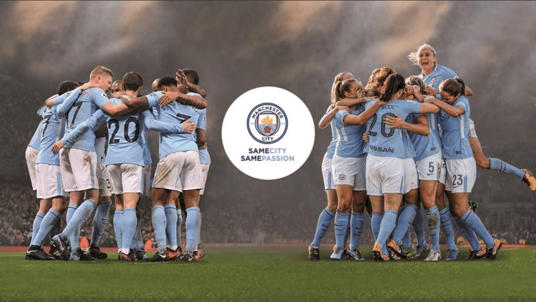 Manchester City campaña igualdad equipo femenil same city