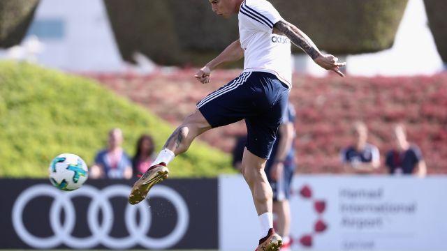 James Rodríguez, futbolista, colombiano, pelea, entrenamiento, compañero, Sebastian Rudy, Bayern Múnich, Bayer Munich, Alemania, Bundesliga