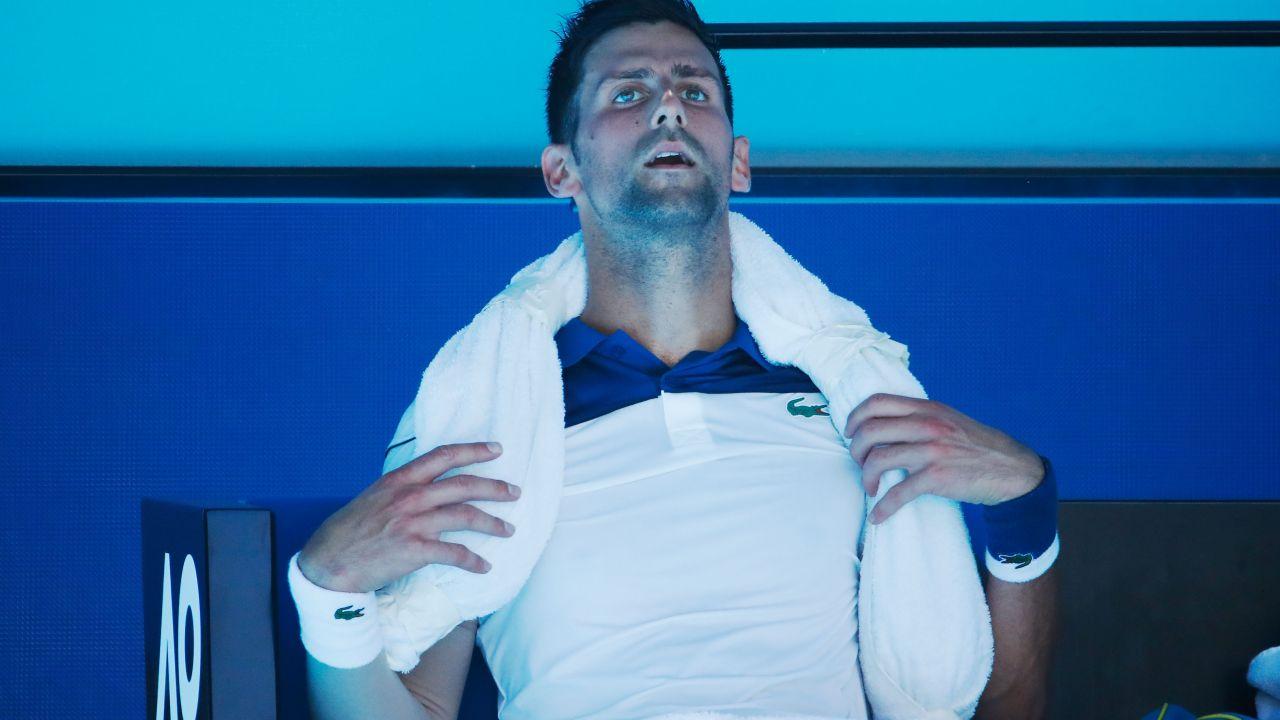 Tenis Melbourne Australian Open Temperatura Calor