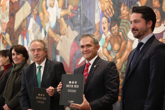 Ciudad de México 2026 CDMX sede mundialista Mundial 2026 Mancera Decio