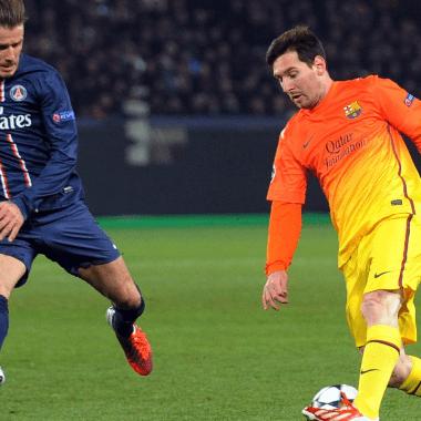 Messi Beckham MLS franquicia Miami Barcelona