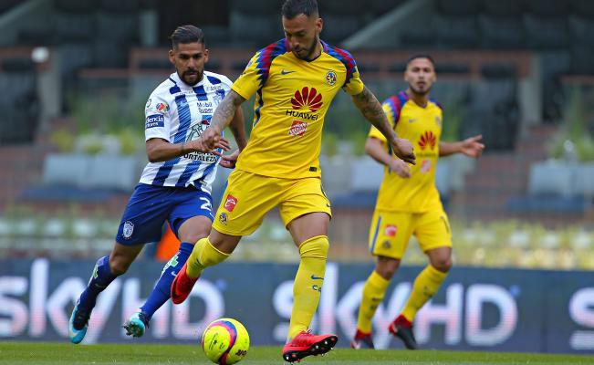 Jornada 2 Clausura 2018 América Pachuca Tuzos Águilas América vs Pachuca Oribe Peralta Henry Martin