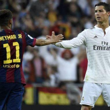 Cristiano Ronaldo Neymar Egos Real Madrid Complemento
