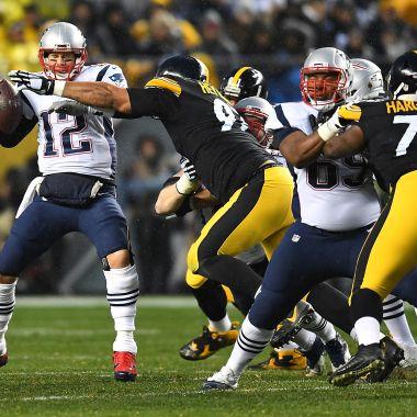 Tom Brady Steelers Pats Steeler Brady vs Acereros