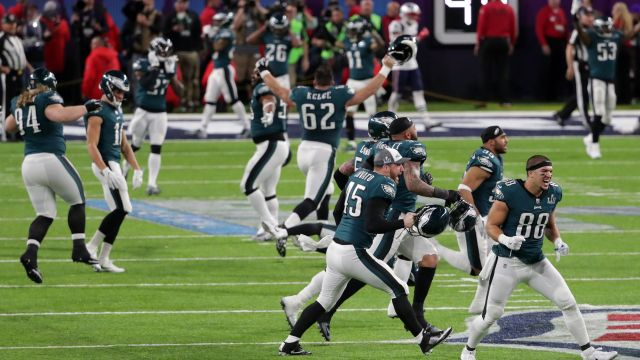 Super Bowl Philadelphia Eagles New England Patriots