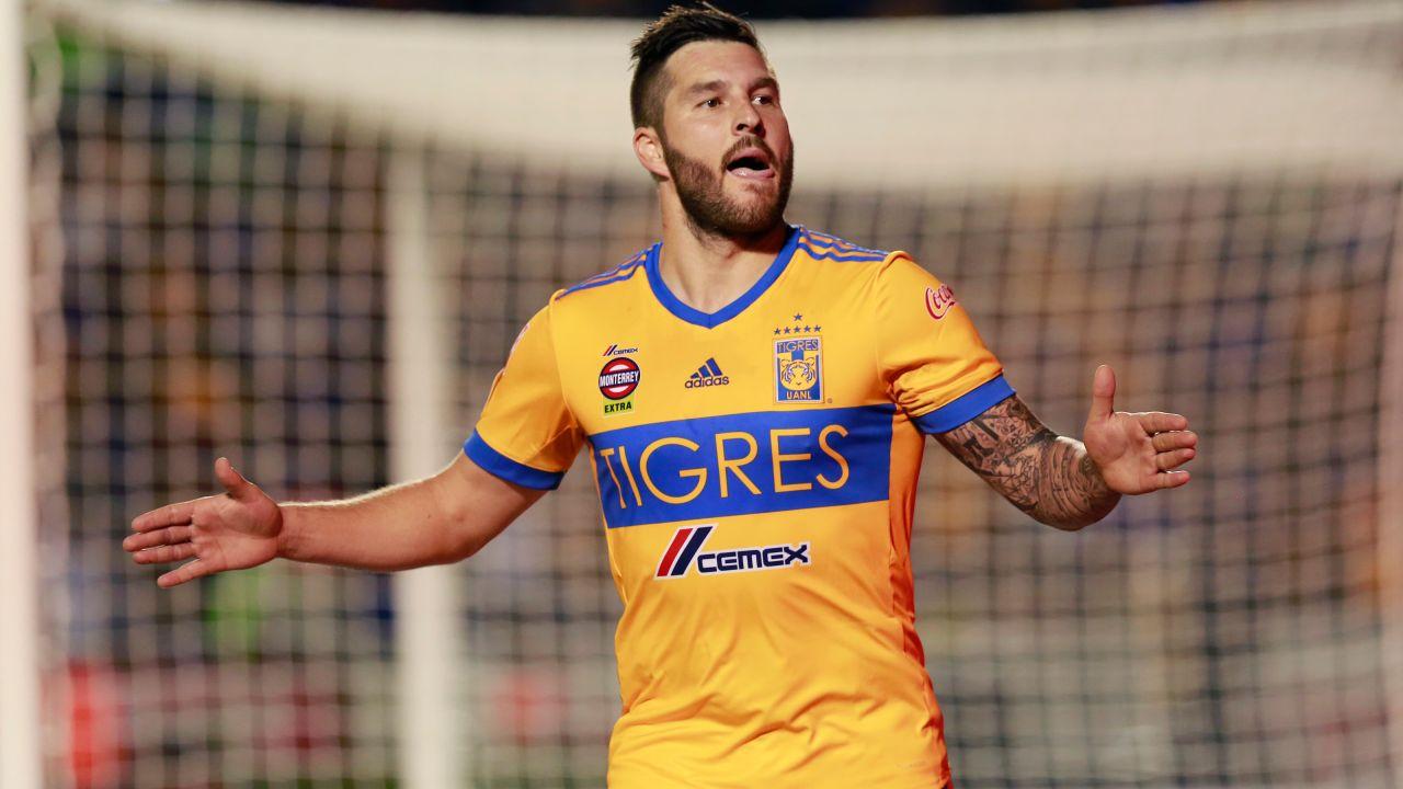 Tigres América resultado Gignac Jeremy Menez goles