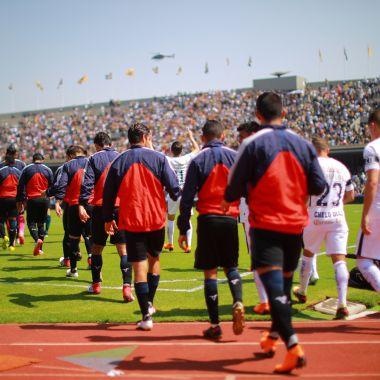 Jugadores, Pumas, Negaron mostrar manta, Narcotráfico, UNAM, Rector, Enrique Graue, Presidente, Rodrigo Ares de Parga