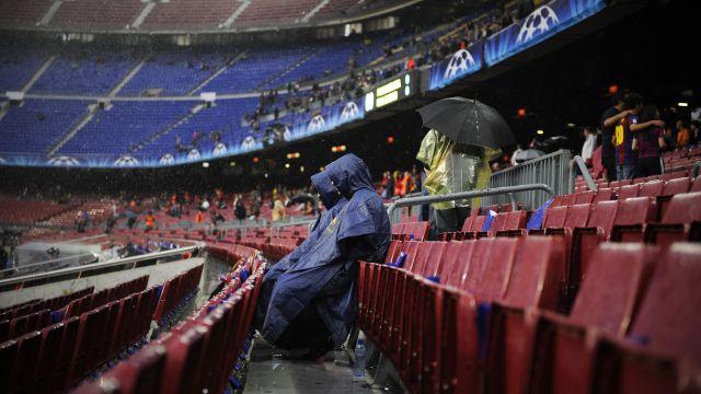 Nou Camp Estadio Barcelona Gradas del Nou Camp Asistentes del Barcelona