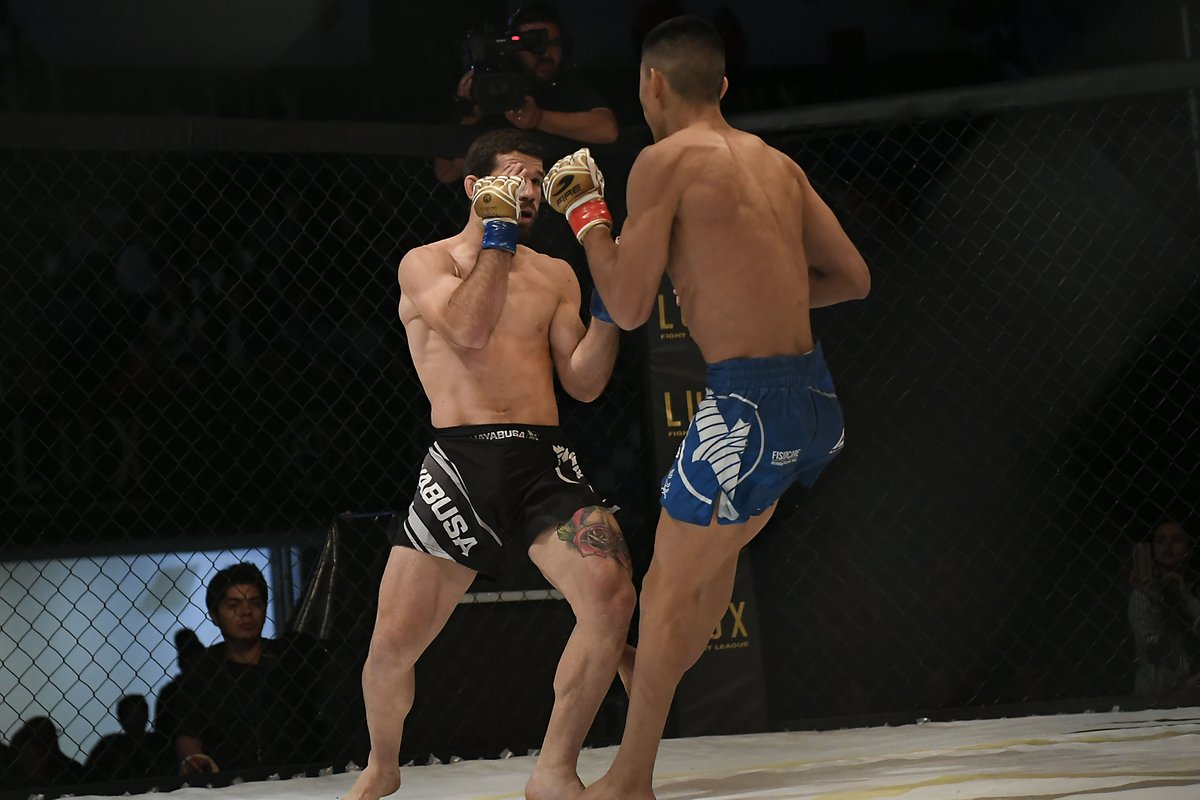 Irving Amaya José Calvo Lux Fight League