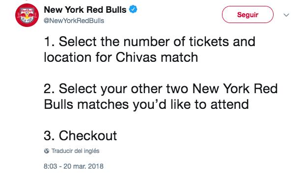 Chivas Concachampions Red Bull Boletos