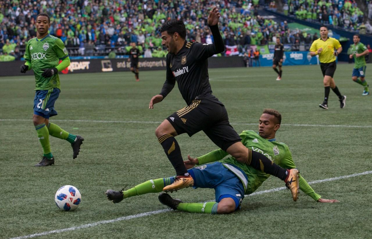 Carlos Vela debuta con LAFC en la MLS