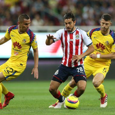 Clásico Nacional, Clausura 2018, Liga MX, Jornada 10, Guadalajara, Chivas, América, Águilas, Goles