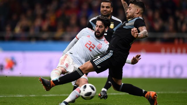 Isco confirmó que Argentina tiene dependencia de Messi