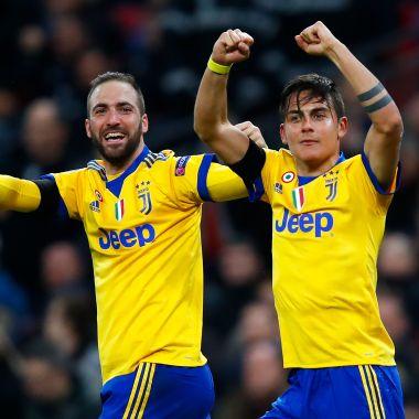 Paulo Dybala Gonzalo Higuaín Juventus Champions League Gol Tottenham