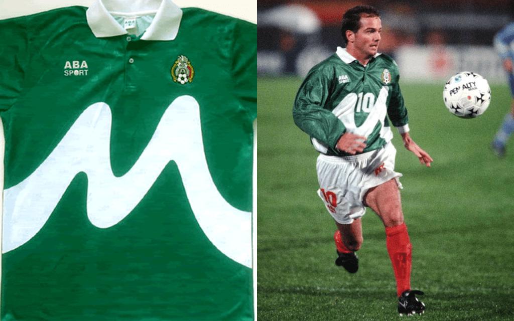 Playeras México Mundial Selección Uniforme Copa America 1995