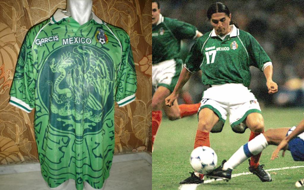 Playeras Mexico Mundial Seleccion Uniforme Confederaciones 1999