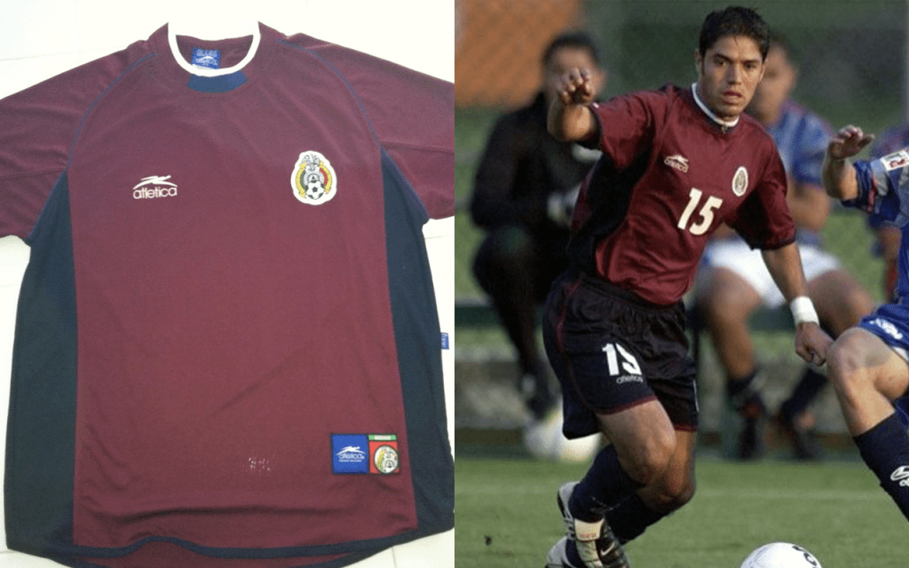 Playeras Mexico Mundial Seleccion Uniforme Corea 2002