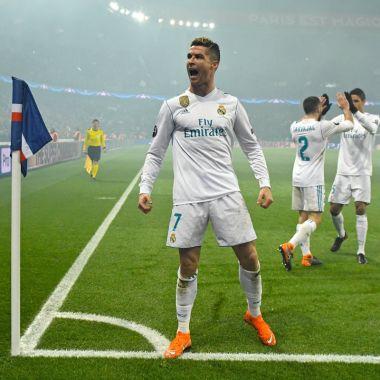 Real Madrid PSG Champions League Cristiano Ronaldo