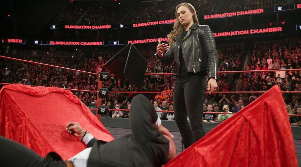 Ronda Rousey Debut WWE RAW Wrestlemania UFC Entrenamiento