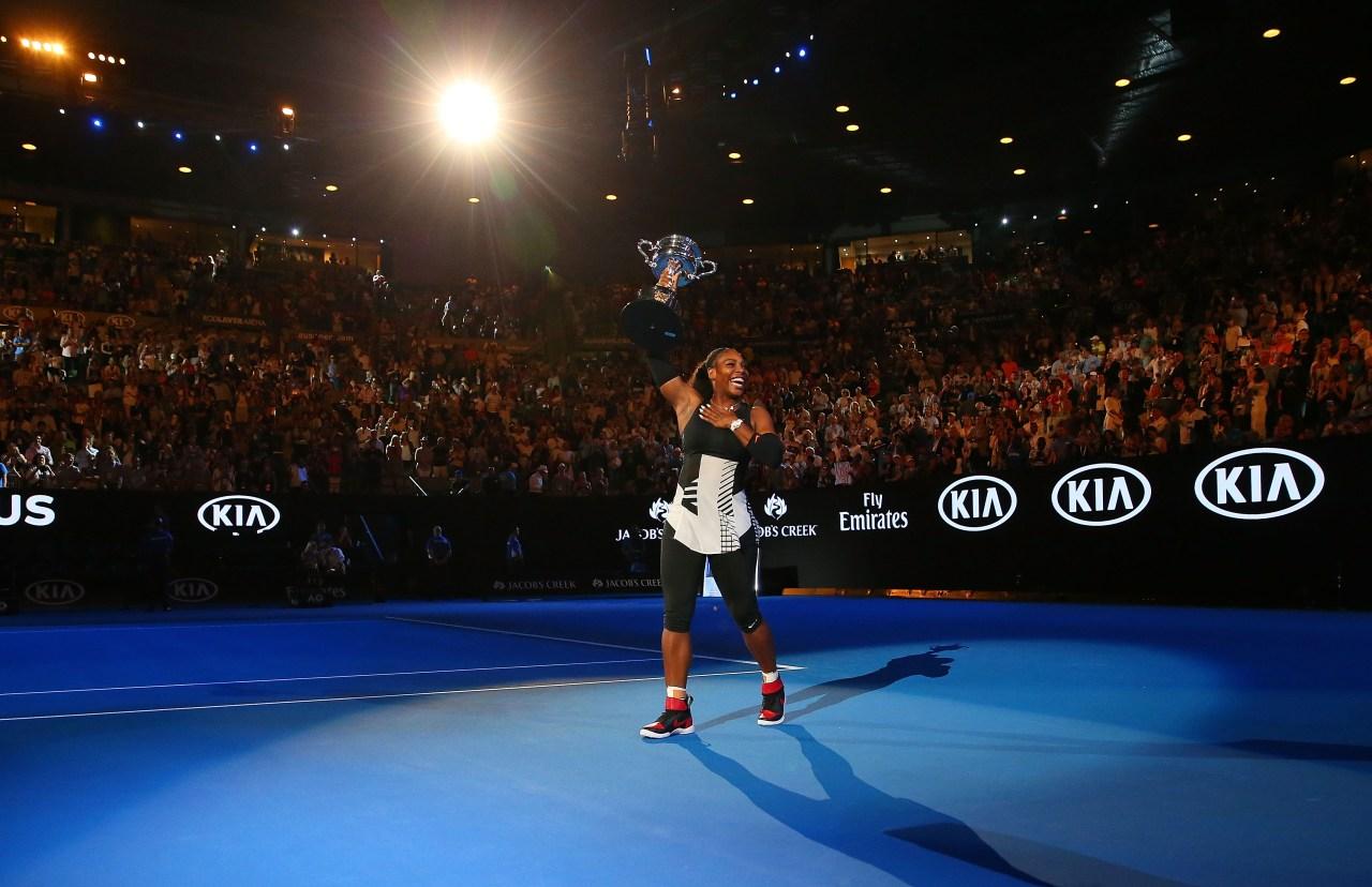 Serena Williams Australian Open 2017 Ganadora