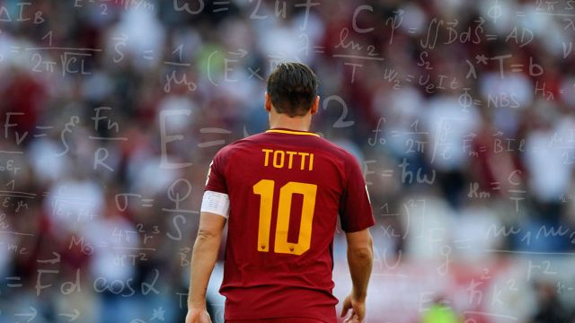 Totti Roma InteligenciaArtificialPresidente Serie A Francesco