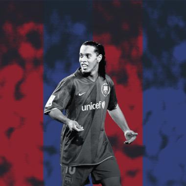 Este es un homenaje al hombre que popularizó los gifs futboleros: Ronaldinho