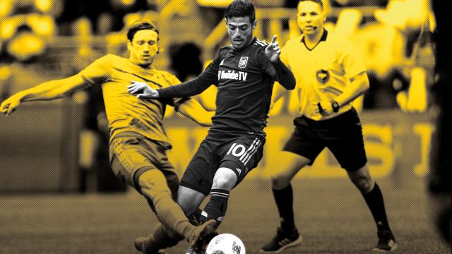 La pesadilla se hizo realidad, Vela debutó con LAFC en la MLS