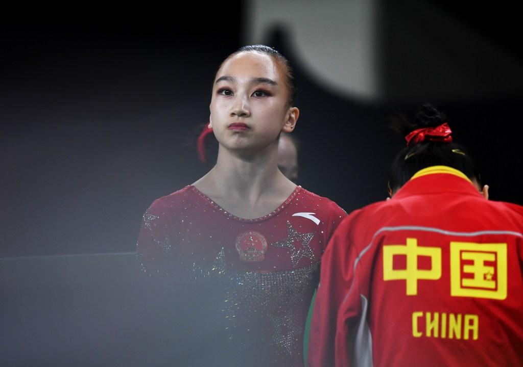 Mao Yi, medallista olímpica china, sufrió escalofriante fractura [VIDEO]