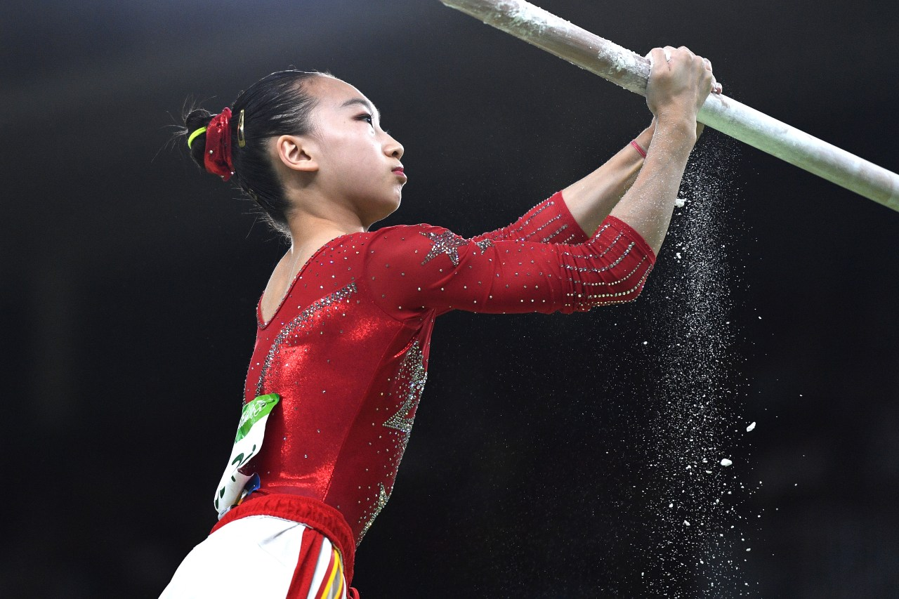 Mao Yi, medallista olímpica china, sufrió escalofriante fractura [VIDEO]