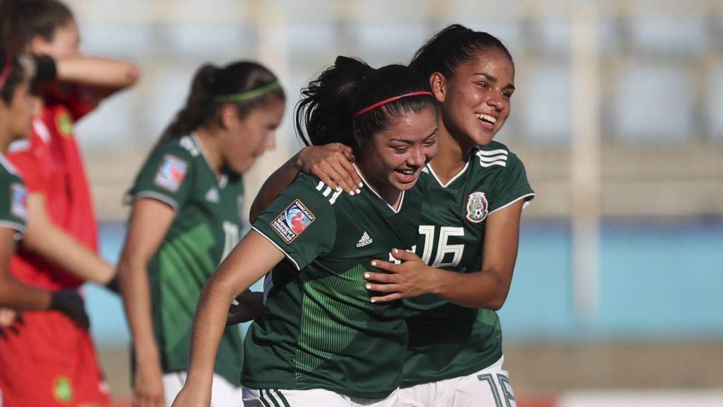 Mundial Femenino Sub 20 Francia Mexico 2018