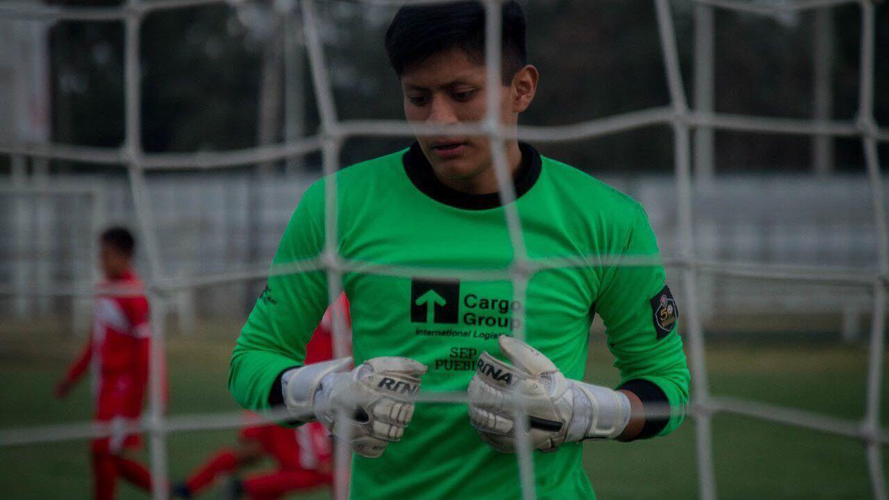 Misael Meneses Carmona, Centro Estatal del Deporte, Tercera División, Muere, Ahogarse, Joven, Futbolista, Portero, Condolencias, Alberca, Puebla, SEP