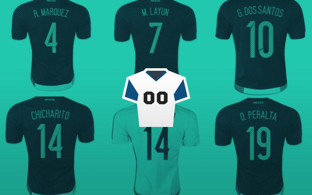 945bff1257908 Qué significan los números en las playeras de los futbolistas
