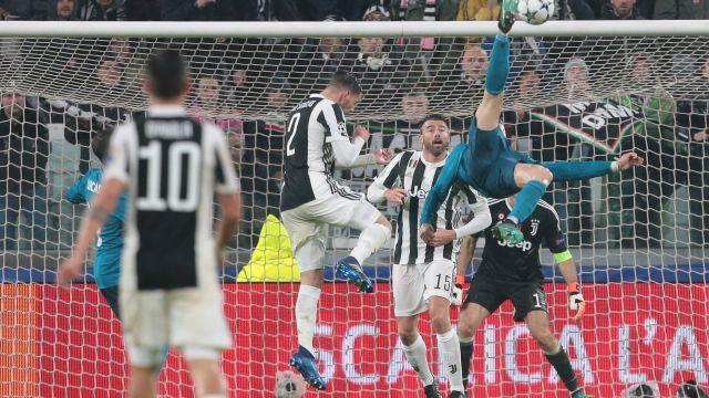 Cristiano Ronaldo Real Madrid Juventus Champions League Resultado