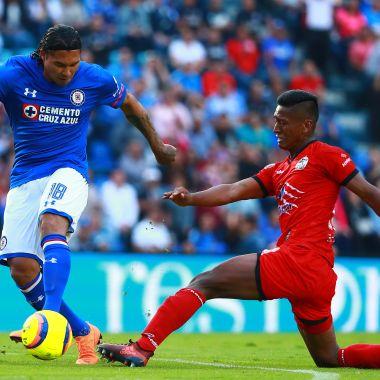 Cruz Azul, Jornada 14, Clausura 2018, Lobos BUAP, Liga MX, Futbol, Ganar, Festeja, Descenso, Liguilla