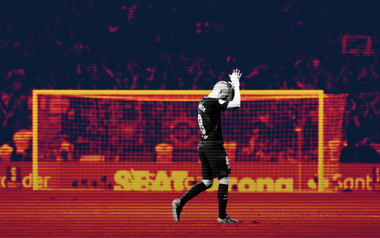 Andrés Iniesta Barcelona Adiós Balón De Oro China Ramos Zidane