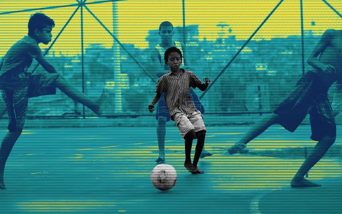 Futbol Callejero Reglas Infancia Niños Retas