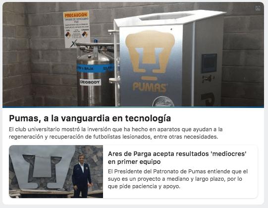 Pumas UNAM Inversión Millonaria Ares De Parga NASA Equipos ok