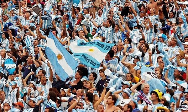 Aficionados Barras Brava Argentina Rusia Mundial 2018