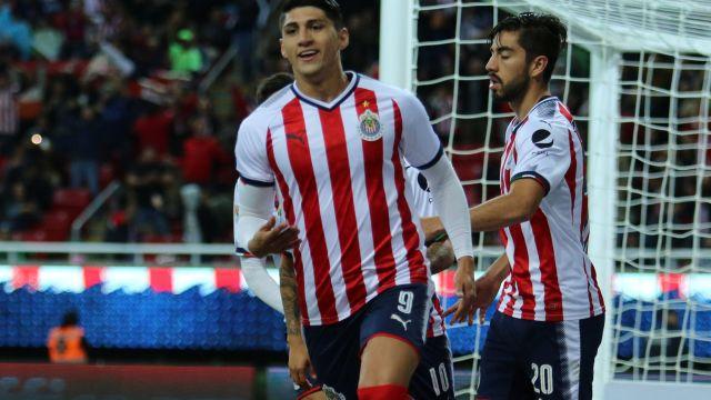 Rodolfo Pizarro Rodolfo Cota Alan Pulido Chivas Liga MX