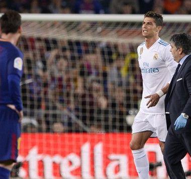 Cristiano Ronaldo Real Madrid Lesión Clásico Barcelona