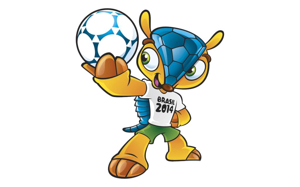 Mascotas Mundial Mejores Historia tatu Bola Brasil 2014