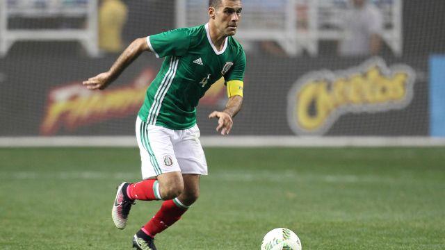 Rafael Márquez Uniforme Entrenamiento Selección Mexicana Mundial Rusia 2018